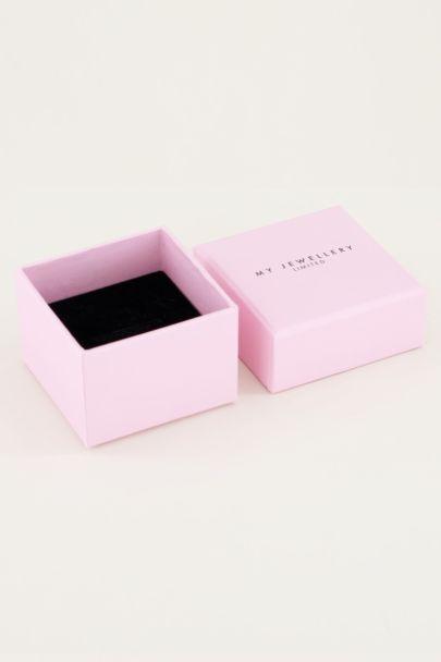 Light pink ring giftbox