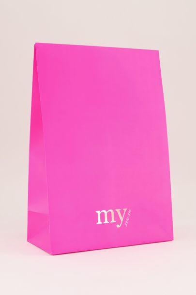 Flapbox M roze