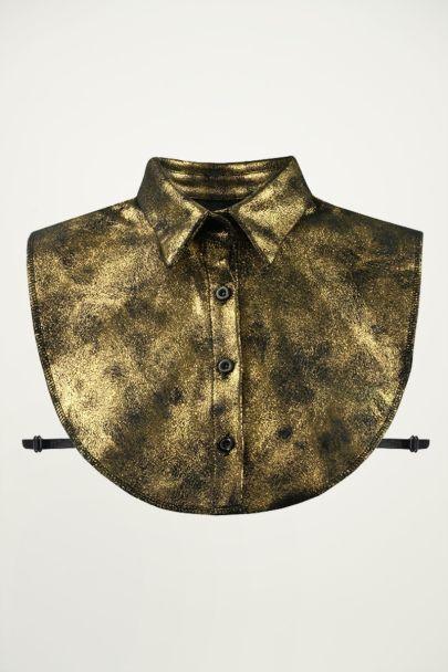 Gold Glitter Collar