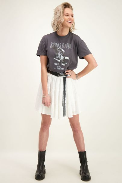 Grijs T-shirt revolution