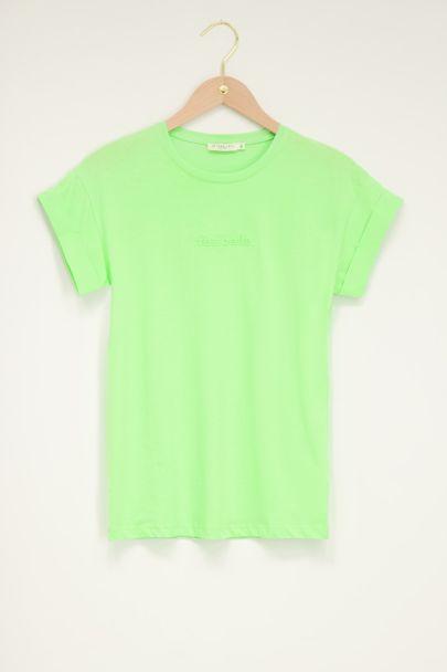 Groen t-shirt très belle