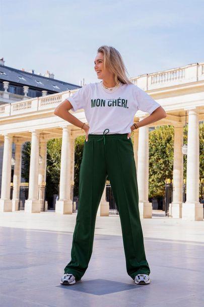 Groene joggingpantalon