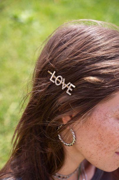 Hair clip love