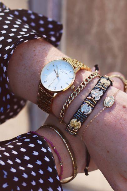 Rond horloge schakelband