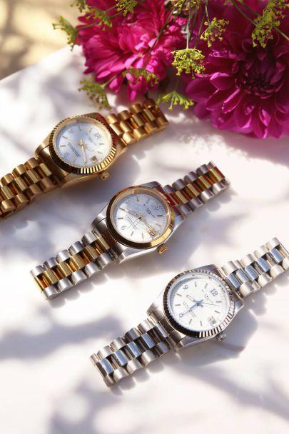 Horloge schakelband