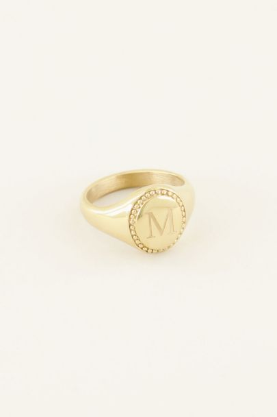 Initial signet ring | My Jewellery
