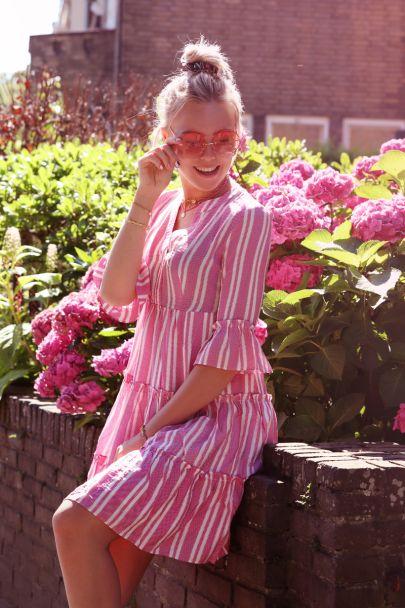 Pink Ibiza dress