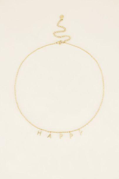 Ketting happy | My Jewellery