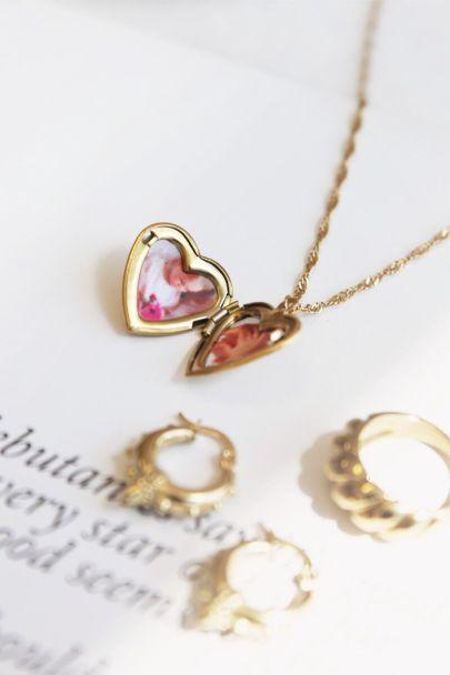 Halskette Herz Amour