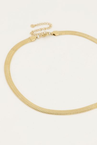 Ketting schakels plat | My Jewellery