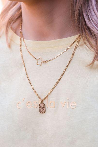 Halskette mit Sternverschluss