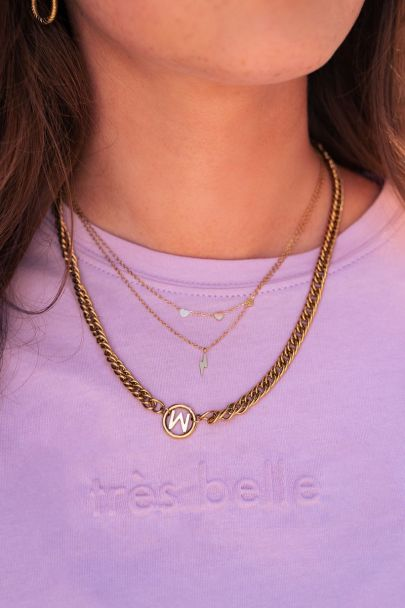 Ketting drie hartjes