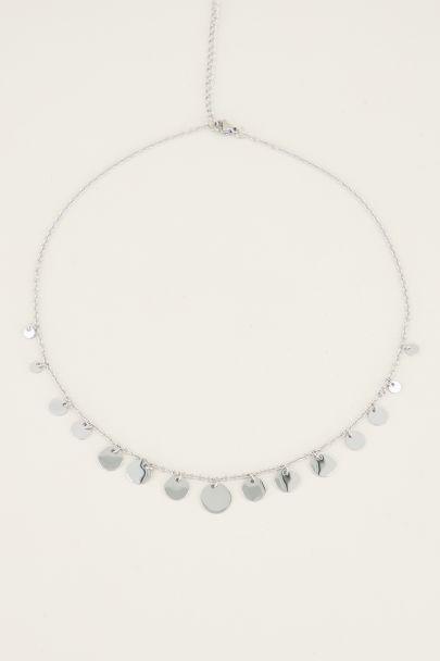Ketting met kleine & grote muntjes | Muntjes ketting My Jewellery
