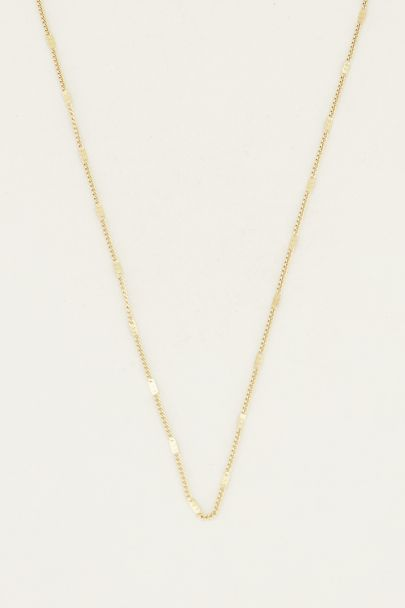 Losse ketting staafjes | Basic ketting My jewellery