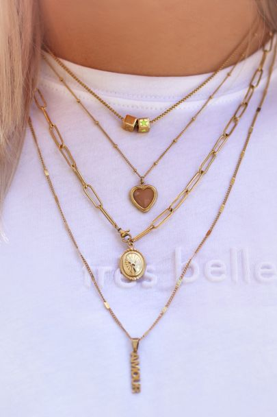 Losse ketting staafjes