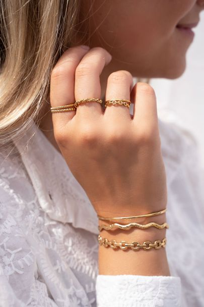 Open link mix ring