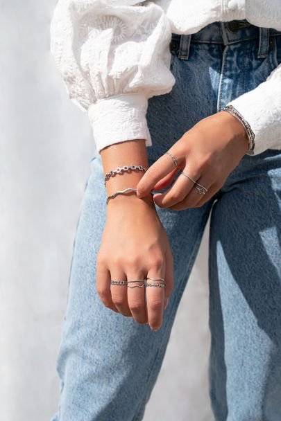 Mix link ring