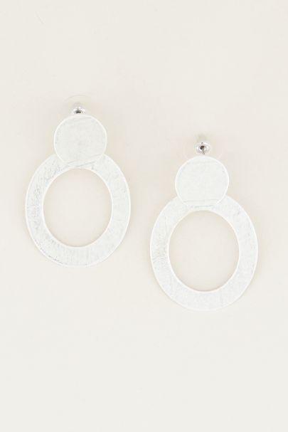Cirkel statement oorbellen, statement oorbellen My Jewellery
