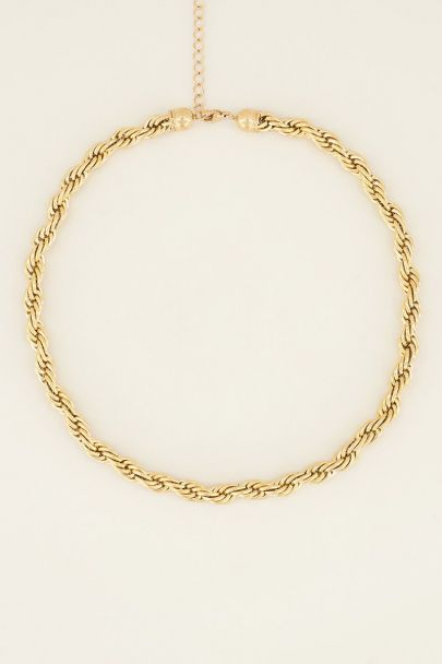 Twisted chain necklace | My Jewellery