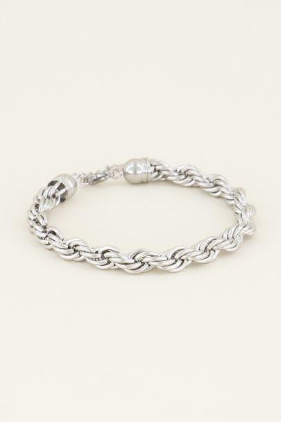 Armband gedraaide schakels | Schakelarmband | My Jewellery