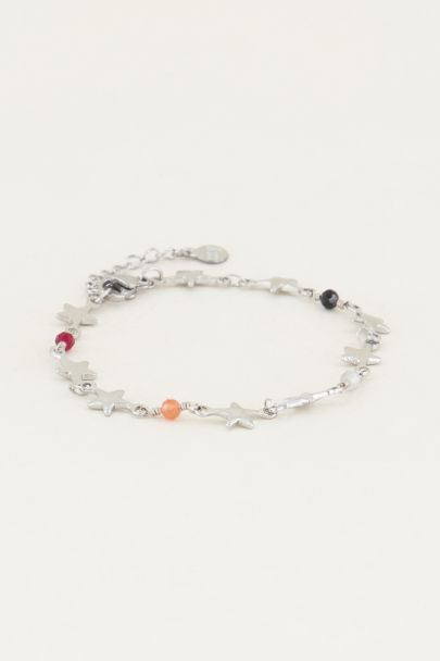 Armband met sterretjes en kralen | Kralen armband My Jewellery