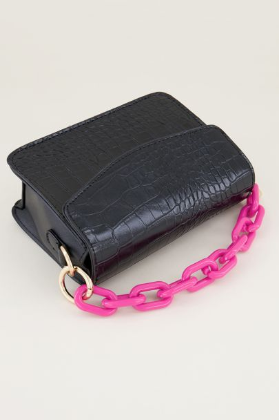 Pink bag chain