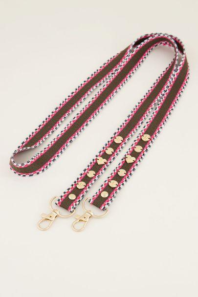 Telefoonkoordje boho print bedeltjes | phone cord My Jewellery