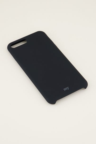 Zwart siliconen telefoonhoesje | TPU telefoonhoesje My Jewellery