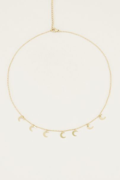 Necklace with little moons | Moon necklace My Jewellery