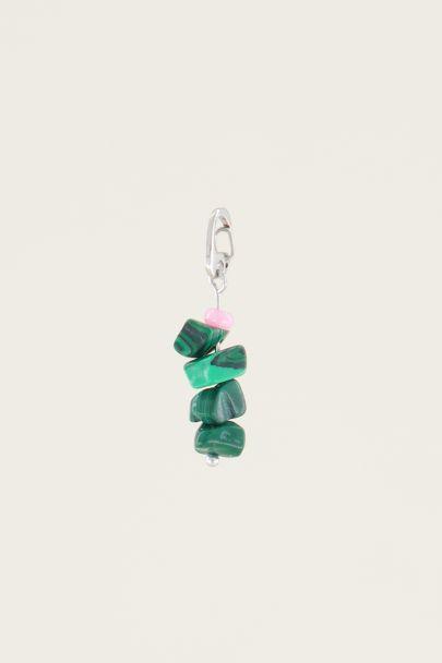 Moments charm malachite stone | Sieraden bedels My Jewellery