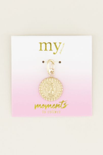 Moments charm coin | bedelsieraden My Jewellery