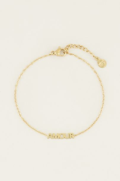 Moments bracelet amour | Bedelarmband van My Jewellery