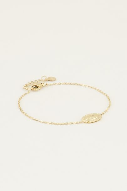 Moments bracelet vintage rose | Bedel armband van My Jewellery