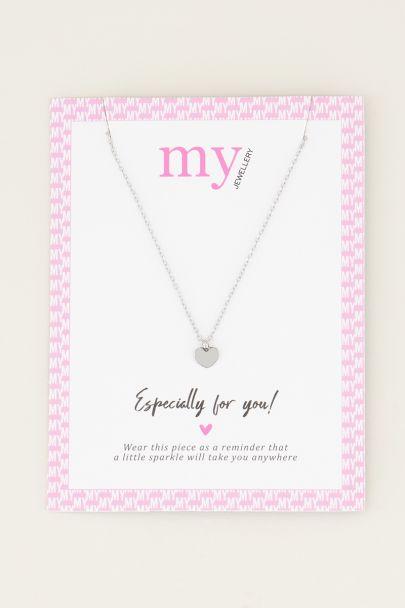 Kleine Herz Halskette | minimalistische Halskette My Jewellery