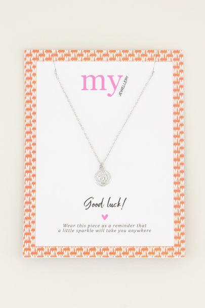 Halskette kleine Münze | minimalistische Halskette My Jewellery