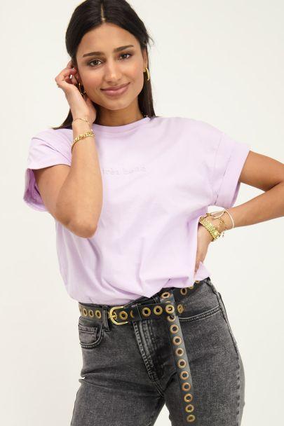 Lila t-shirt très belle