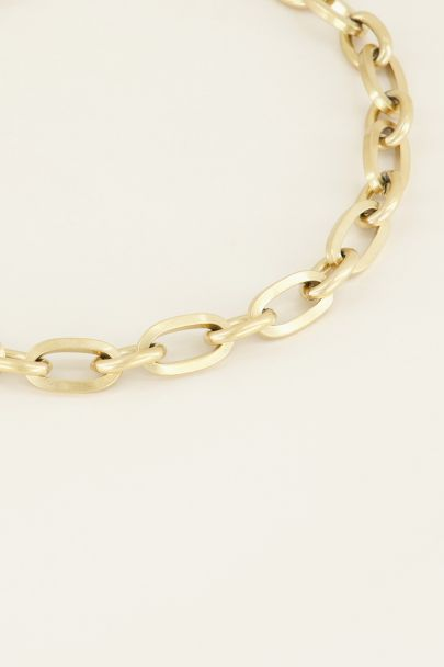 Schakelketting kapittelslot | My Jewellery