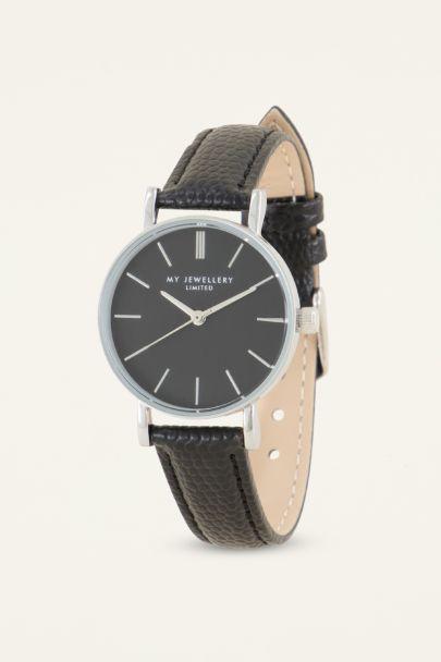 Zwart horloge | Dames horloge | My Jewellery