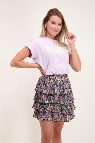 Lila shirt Paris