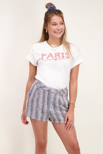 Wit shirt Paris