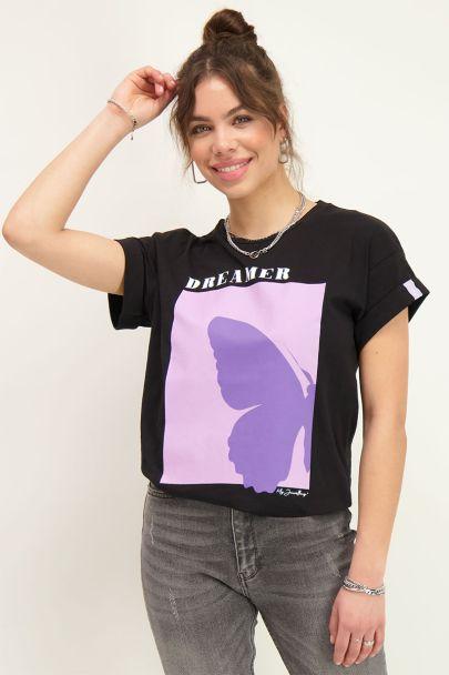 Black dreamer T-shirt