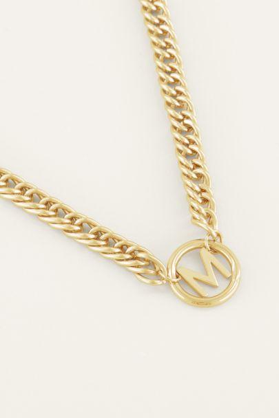 Halskette mit Chunky-Initialen | Halsketten | My Jewellery