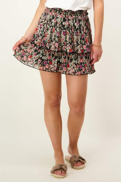 Wildflower skirt with pleats