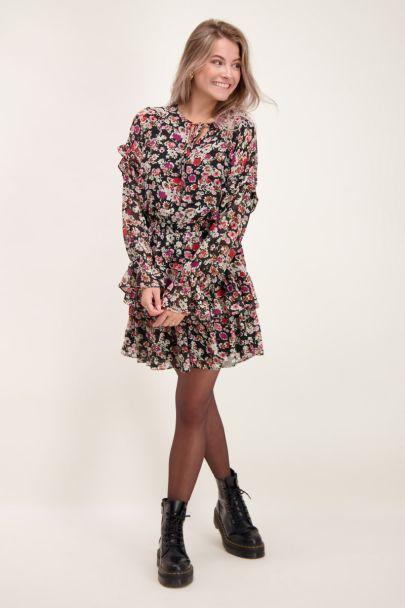 Wildflower dress with ruffles