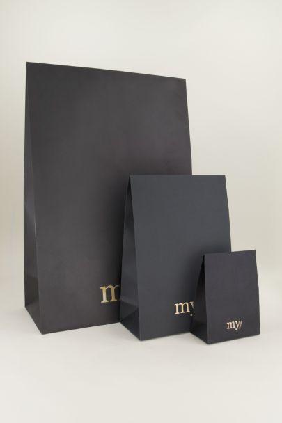 Flapbox L zwart