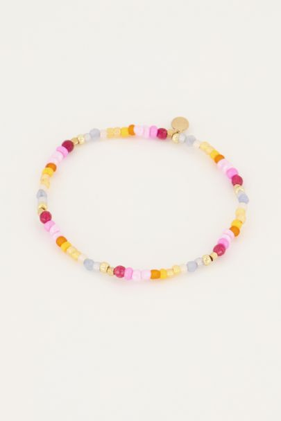 Gekleurde kralen armband