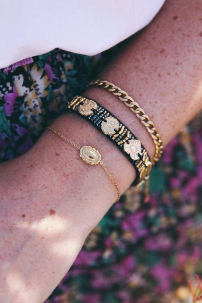 Moments armband vintage rose