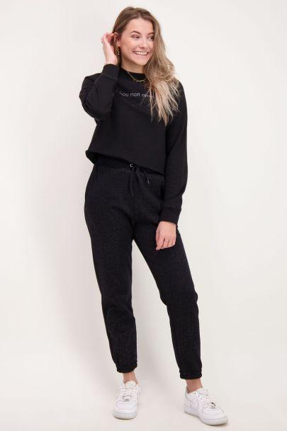 Black bisou sweater