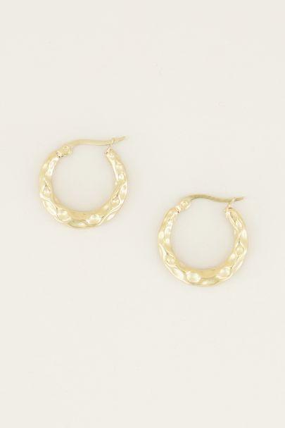 gebobbelde oorringen | bolletjes oorbellen My Jewellery
