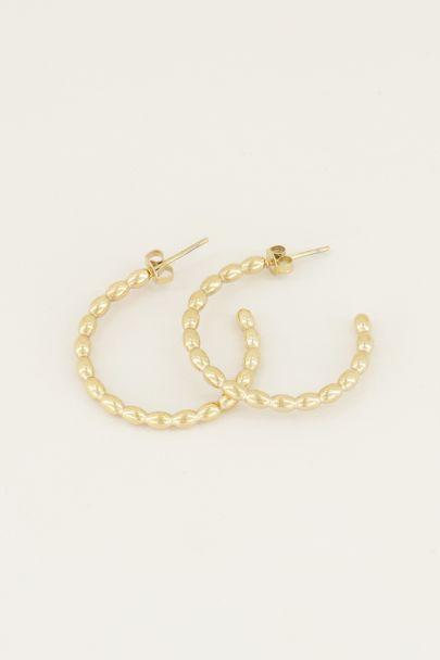 Grote oorbellen bolletjes | Grote oorringen My Jewellery